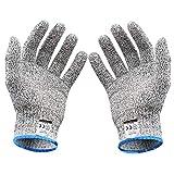Ministore 防刃手袋 防刃グローブ 作業用手袋 作業グローブ カットガード 切れない手袋 耐切創レベル5 サイズ L -