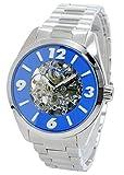 [フィッチェ] FICCE 腕時計 自動巻き スケルトン 100M防水 11071-03 メンズ