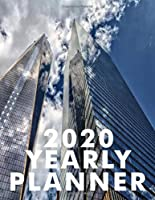 2020 YEARLY PLANNER: YEAR CALENDAR, DIARY, NOTES, MONTHLY CALENDAR WITH BOXES, SECTION FOR EACH DAY OF THE YEAR WITH 8 CHECKLIST LINE PER DAY -  REMEMBER BIRTHDAYS, ANNIVERSARIES, MEETINGS, DEADLINES, PARTIES, EVENT DATES, 2020 - YEAR IN PIXELS & MORE
