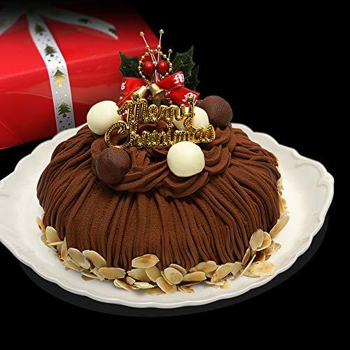 クリスマスケーキ 2018 生チョコモンブラン