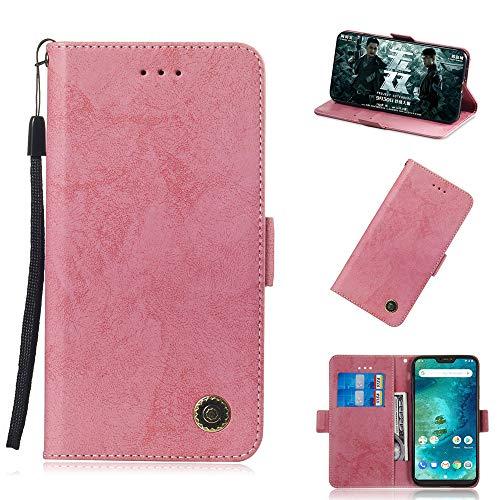 フリップ 財布 シェル の Xiaomi Mi A2 Lit...