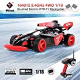 Best WLtoys電動RCカー - オリジナルWLtoys 184012 2.4GHz 4WD 1/18 45KM / Hブラシ付き電動RTR Review