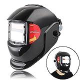 自動遮光溶接面 液晶フィルター ソーラー充電式溶接マスク・溶接ヘルメット