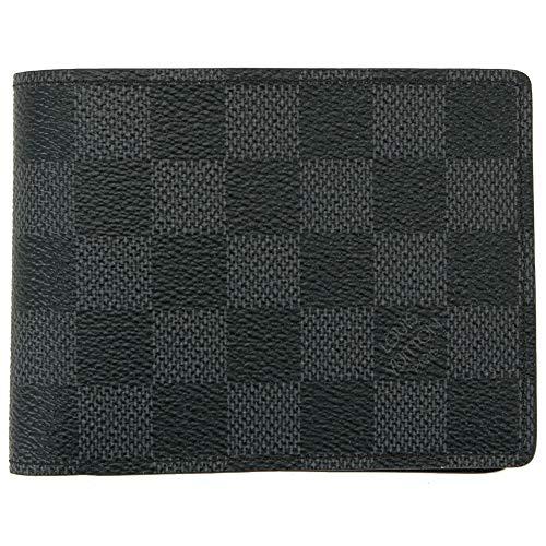 [セット品]正規化粧箱&正規紙袋付き LOUIS VUITTON ルイヴィトン ダミエ・グラフィット ポルトフォイユ・ミュルティプル LOUIS VUITTON 二つ折りXカード財布 N62663
