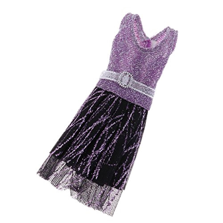 Fenteer 29cmのバービードール人形対応 服アクセサリー きれい ファッション スカート パーディードレス ワンピース 品揃え 全13スタイル選べる - #1