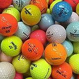 カラー混合 ゴルフボール ブランド混合 30球セット【ABランク ロストボール】