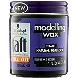 Schwarzkopf Taft Full On Modelling Wax, 100ml