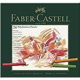 Faber-Castell Polychromos 24 Pastel Crayons Tin (27-128524)