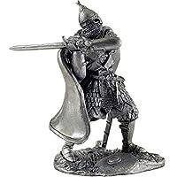 16世紀の剣でロシアの戦士. Russian warrior with sword 16th century. Tin toy soldiers. コレクション54ミリメートル(1/32スケール)を ミニチュア置物.錫のおもちゃの兵士