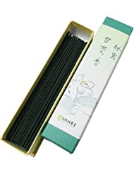 淡路梅薫堂のお線香 竹炭甘茶香18g バラ #32 ×10