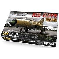 1/48 MiG21PFM Days of Glory & Oblivion Fighter (Plastic Kit) AK Interactive