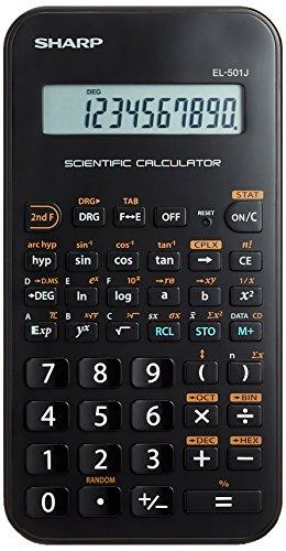シャープ 関数電卓 68関数機能 ライン表示 スライド式ハードケースタイプ EL-501JX