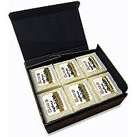 魚沼産コシヒカリ 真空パックキューブギフトセット 漆黒化粧箱 1.8kg (2合×6パック)