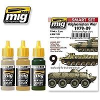 AmmoのMigアフガニスタン戦争( 1979 – 1989 )アクリル色3 Jars 17 ml # 7139