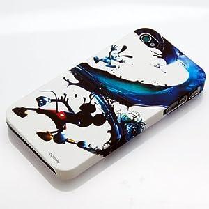 Rix iPhone4用ラバーコーティングバックパネルケース Wii用ソフト「Disney Epic Mickey」 RX-IJK495EMKY /