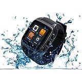 【3G対応スマートウォッチ】iMacwear M7 ☆Android 4.2★1.54インチ/1.0GHz Dualコア/IP67防水/日本語 (ブラック) [並行輸入品]