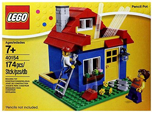 RoomClip商品情報 - LEGO 40154 Pencil Pot ハウス型ペン立て
