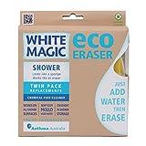 White Magic SER-WM Shower Eraser Sponge Refill (Pack of 2)