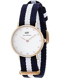ダニエルウェリントン 腕時計 Classy クラッシー レディース 26MM NATOタイプナイロンベルト グラスゴー/ローズゴールド 0908DW 並行輸入品