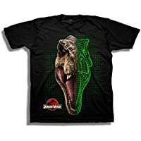 Jurassic World Boys 2 T-rex Scan Short Sleeve T-Shirt Short Sleeve T-Shirt