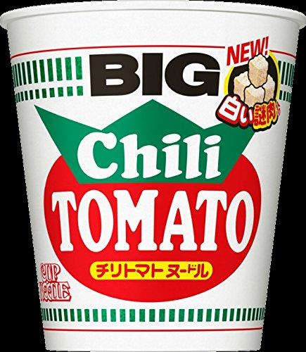 日清 カップヌードル チリトマトヌードル ビッグ  1箱:12食入り