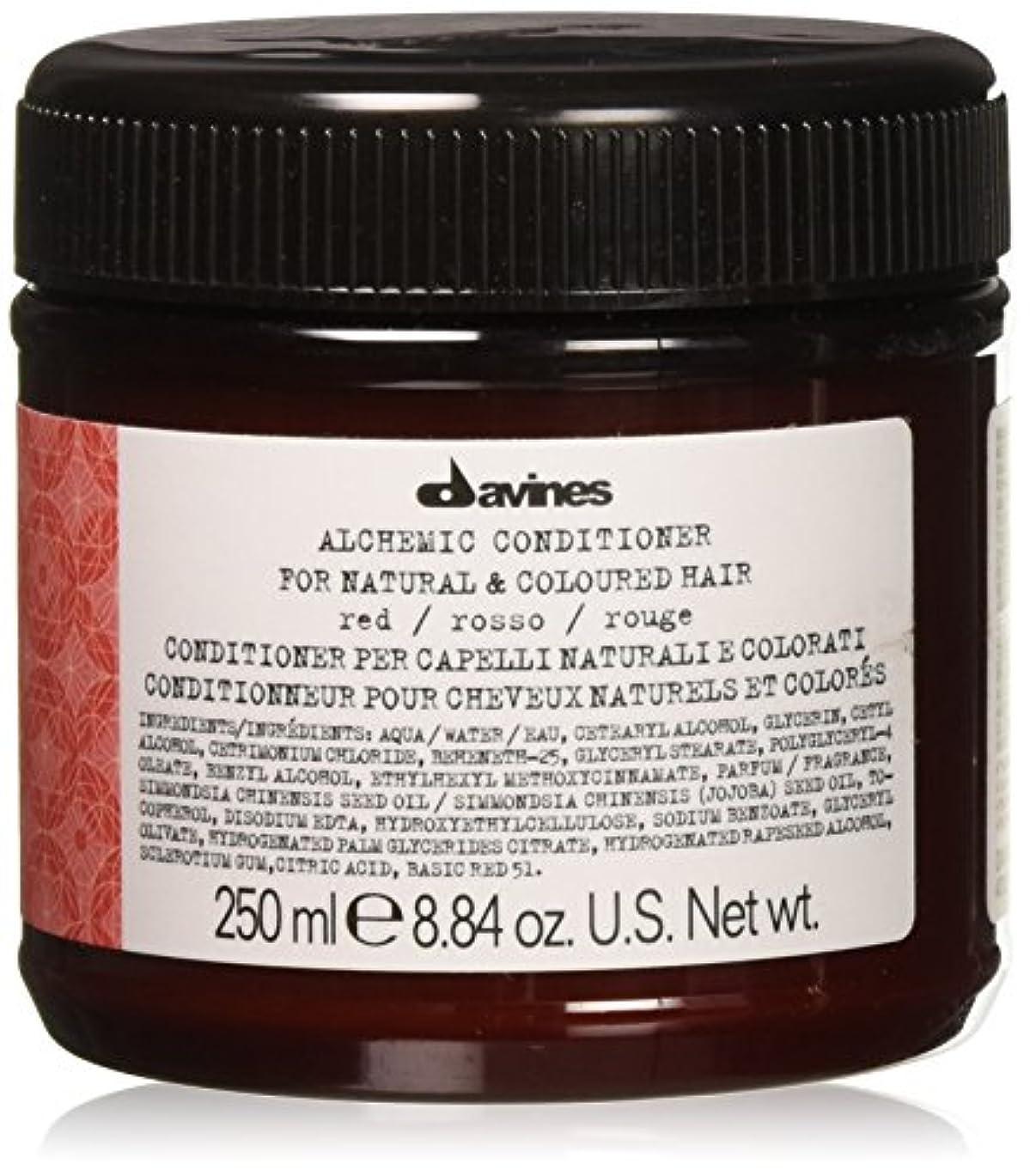 職人ミュート関与するダヴィネス アルケミック コンディショナーレッド (地毛が赤毛の方、赤毛に染めている方用) 250ml/8.45oz並行輸入品