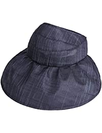 XIAOMEI サンハットエレガントなミスファッションアウトドアツーリズムFoldable空のトップビーチキャップ sun hat
