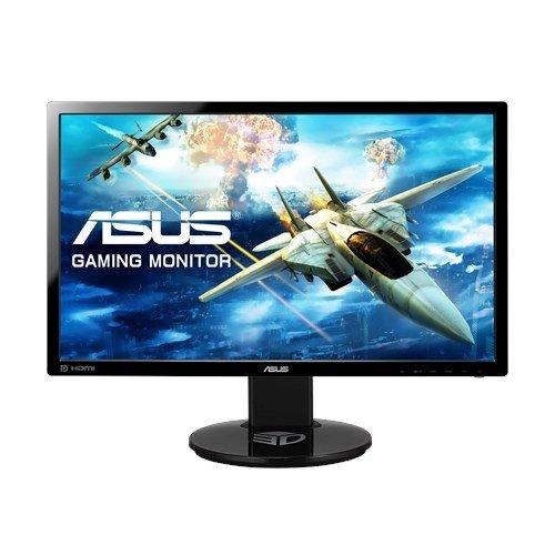 ASUS Gamingモニター 24型フルHDディスプレイ (応答速度1ms / リフレッシュレート144Hz / NVIDIA 3D Vision2対応 / 昇降・ピボット機能/DP,HDMI,DVI/スピーカー内蔵 / VESA規格 / 3年保証) VG248QE-J
