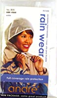 Andre Rain Wear 855 Rain Visor White One Size Fits All [並行輸入品]