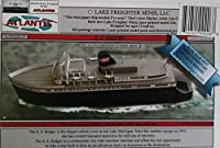 S.S. Badger Great Lakes Coal Fired Ferry Boat Paper Model Atlantis Toy and Hobby by Atlantis Toy and Hobby