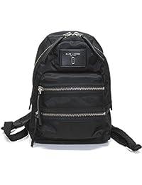 (マークジェイコブス) MARC JACOBS ミニ バックパック リュックサック 【Nylon Biker Mini Backpack】 M0012702-001 Black ダブルJロゴ ナイロン [並行輸入品]