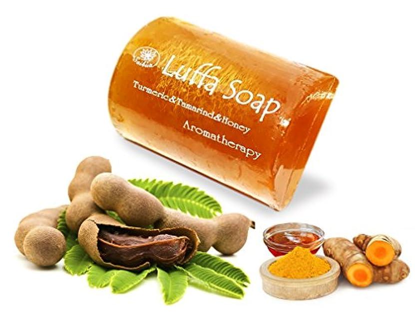 気取らない主追い越すMangos Teen. Tamarind Soap Turmeric Honey Luffa Saibia Soap Aroma Scrub Herbal Relaxing After Work Sport Middle...