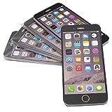 Rebias メモ帳 iphone型 5冊セット 罫線付き 文房具 ユニーク商品 文具 スマホ かわいい 面白い インテリア ブラック NS-SMMEMO-BK