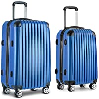 Wanderlite Luggage Suitcase Set with Multi-Colour