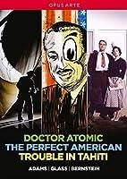 アメリカ現代オペラBOX - バーンスタイン:歌劇《タヒチ島の騒動》/ジョン・アダムズ:歌劇《ドクター・アトミック》/フィリップ・グラス:歌劇《パーフェクト・アメリカン》 [DVD,4Discs]