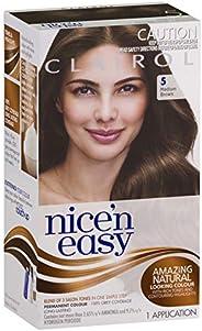 Clairol Nice'n Easy Permanant Hair Colour, 5 Medium Brown, 1 c