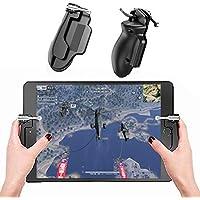 荒野行動 PUBG Mobile コントローラー 調節可能 一体式 iPad/Android/グリップボタン 高度アップ タブレット対応