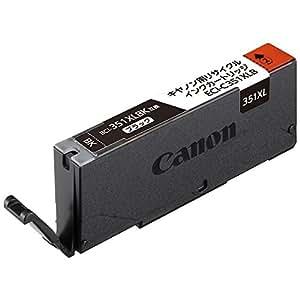 エコリカ キャノン(Canon)対応 リサイクル インクカートリッジ ブラック BCI-351XLBK (目印:キャノン351)  ECI-C351XLB