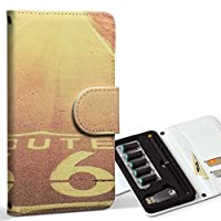 スマコレ ploom TECH プルームテック 専用 レザーケース 手帳型 タバコ ケース カバー 合皮 ケース カバー 収納 プルームケース デザイン 革 写真 風景 道 011320