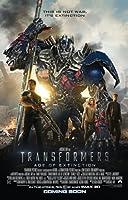 Transformers Age Of Extinction映画ポスター2Sided元Intlファイナル27x 40