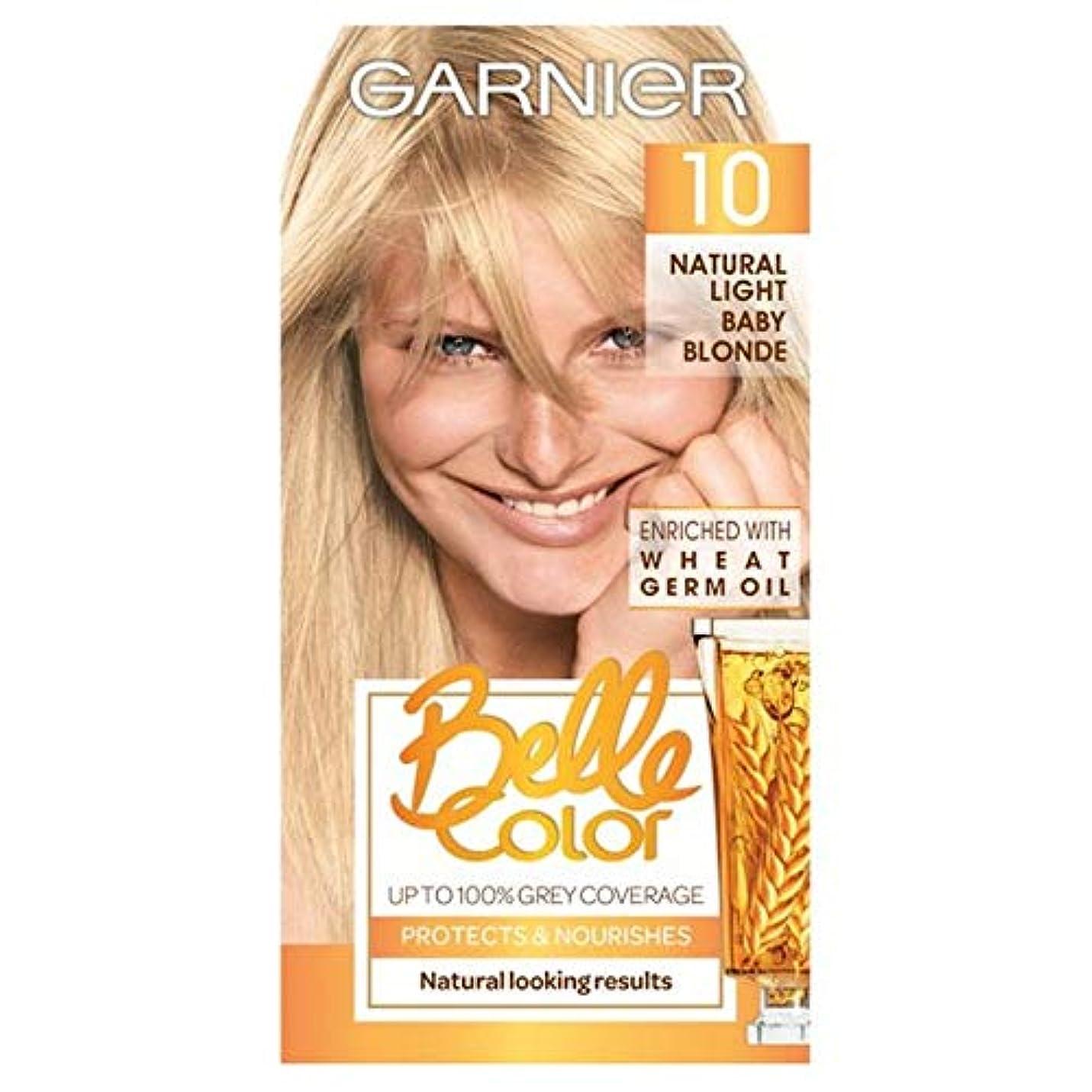 鋭くオーロック頻繁に[Belle Color ] ガーン/ベル/Clr 10自然光の赤ちゃんブロンドパーマネントヘアダイ - Garn/Bel/Clr 10 Natural Light Baby Blonde Permanent Hair...