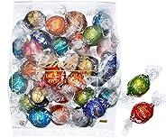 【公式】リンツ (Lindt) チョコレート リンドール 10種類アソート 詰め合わせ [Bタイプ] 個包装 30個入り (ミニリーフレット付き)