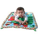 The Very Hungry Caterpillar Eric Carle Playmat and Pillow ベイビー 赤ちゃん はらぺこあおむし エリック・カール プレイマット & まくら
