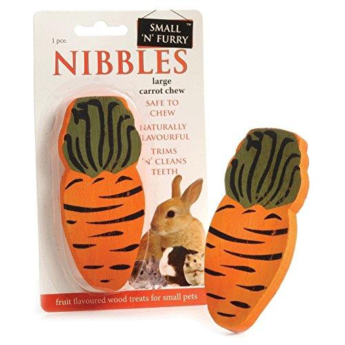(シャープルズ) Sharples 小動物用 スモールNファーリー Carrot ウッドチュウ ウサギ用 噛むおもちゃ 木製 ...