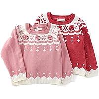 Biquette Club (ビケットクラブ) セーター (80~130cm) キムラタンの子供服 (10325-183) レッド 80