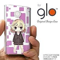 glo グローケース カバー グロー キャラ2-A 紫 nk-glo-1337