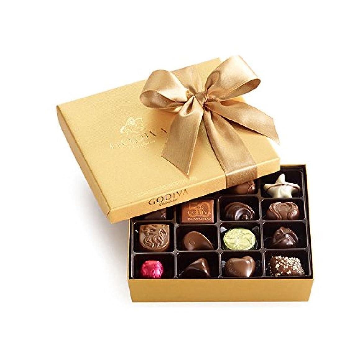 安全な刺繍洞察力ゴディバ(GODIVA), ゴールドBallotin  19 ベルギー チョコレート(海外直送品) [並行輸入品]