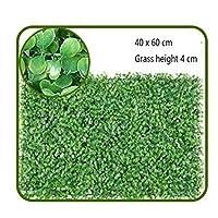 カスタマイズ可能な人工芝の敷物の屋外の人工的な植物の壁の装飾の厚い密度 (Color : A, Size : 48pack)