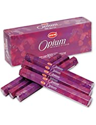 HEM(ヘム) オピウム OPIUM スティックタイプ お香 6筒 セット [並行輸入品]