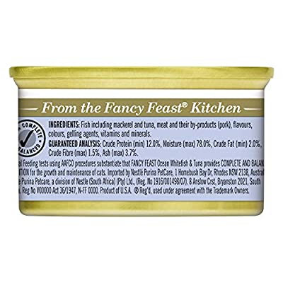 FANCY FEAST Ocean Whitefish & Tuna 24x85g